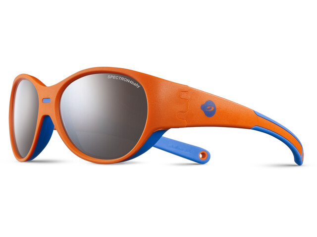Julbo Kids 3-5Y Puzzle Spectron 4 Sunglasses Orange/Blue-Gray Flash Silver